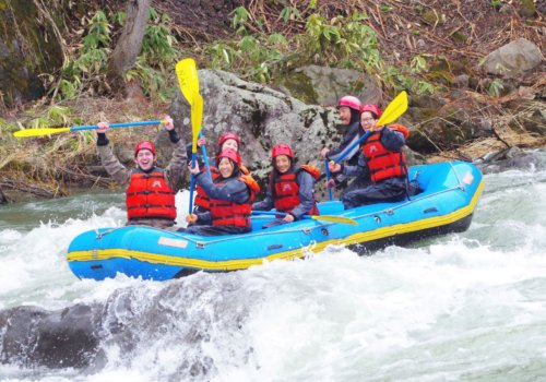 Water Rafting With Nac