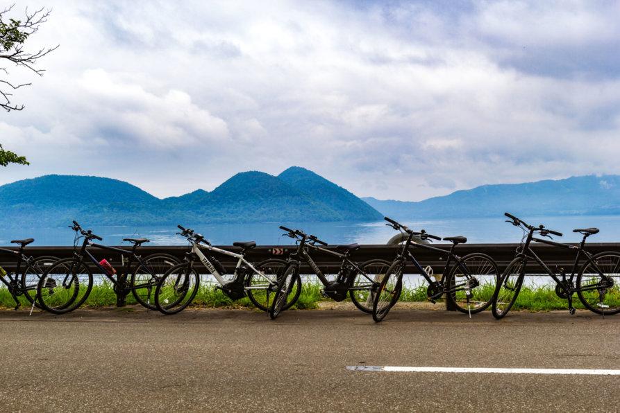 Edit Rhythm Bike Tour At Lake Toya Summer 2017 Bicycle Cycling 6