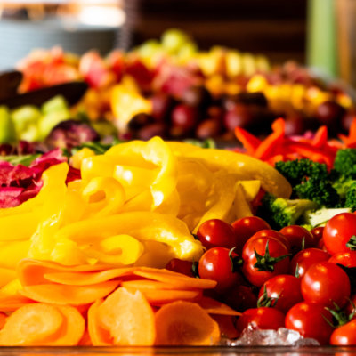 Fresh fruit and seasonal vegetables mean you start the day the right way.