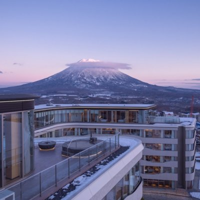 Unobstructed, completely protected views of Mt Yotei.