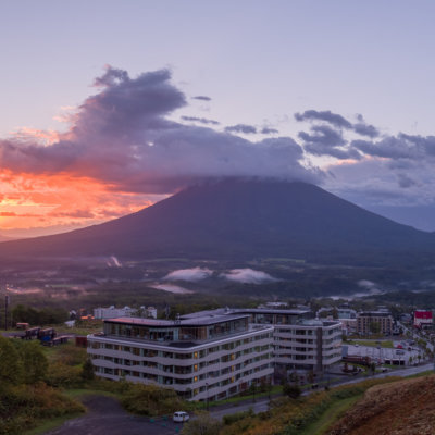 Skye Niseko Exterior Summer Sunset Low Res 1