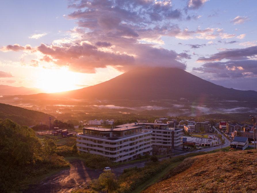 Skye Niseko Exterior Summer Sunset Low Res 2