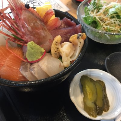 Lunch at Kagura, Niseko Town