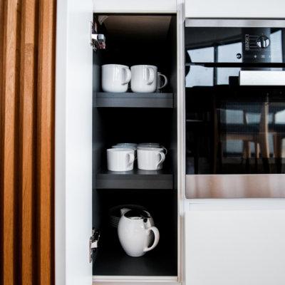 Morning coffee, done in Skye Niseko style and luxury.