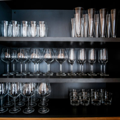 Some of the nicest glassware you will ever handle.