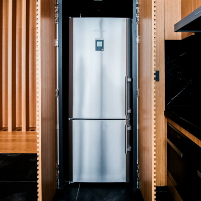 Modern, spacious fridge in Skye Niseko
