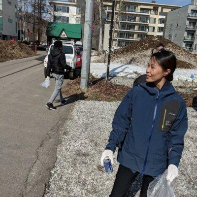 Skye Niseko Staff Spring Cleaning