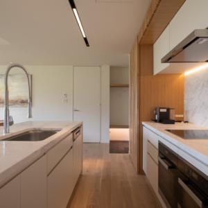 2 Bedroom East View Kitchen