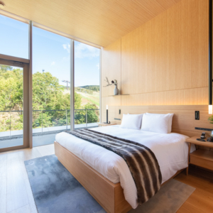 Skye Niseko Annupuri North Penthouse Bedroom Summer Low Res 2