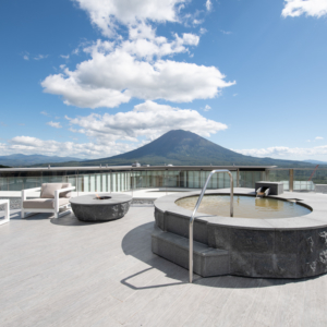 Totally unmatched views of the entire Niseko area.