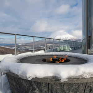 Enjoy the fire pit in the cold winter months.