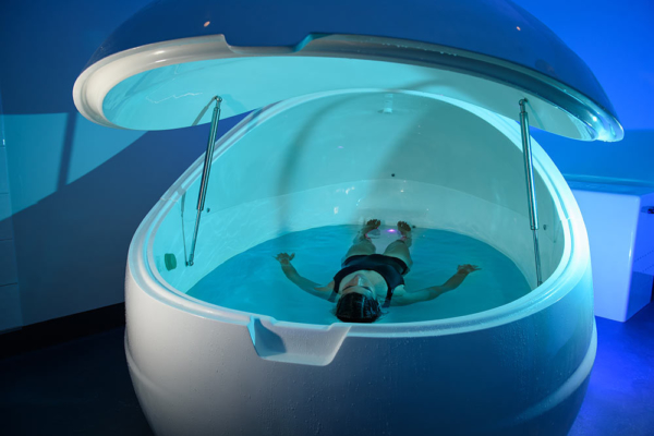 The Float Tank at Ryko Spa at Skye Niseko is great for mind, body and soul.